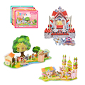 New 3D Kids Toy Puzzle Fairy Tales Series Puzzle Toy for Children Paper Model Building Kits Educational Toy Birthday Gift Puzzle