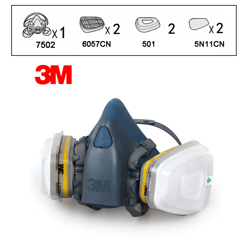 респиратор 3 м с защитой хлора