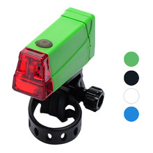 2 Modes Beautiful  Bicycle Bike Light Mountain Bike Tail Rear Lamp Riding Safety Caution Warning Adjustable Direction Light