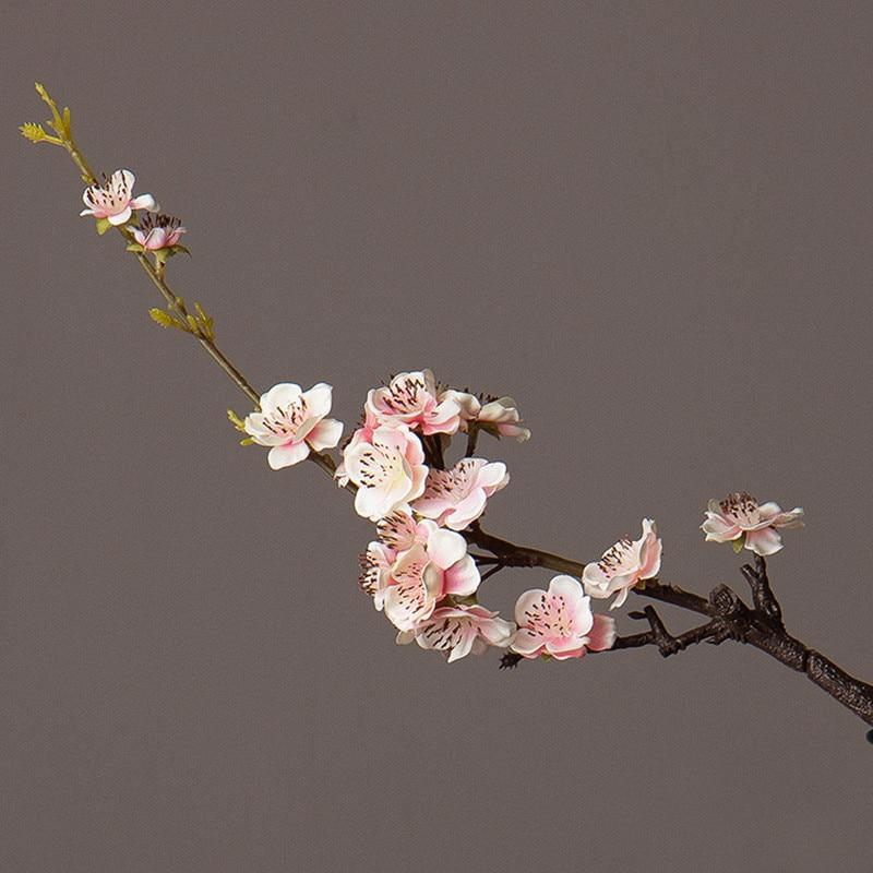 Σούπερ όμορφα τεχνητά λουλούδια Ποιμαντική καθιστικό Διακοσμητικά ψεύτικα λουλούδια Παραδοσιακή κινεζική στυλ ανθούσε Plum άνθη