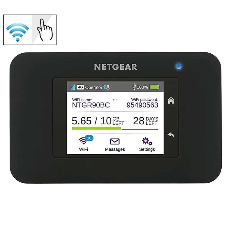 Unlocked Netgear Aircard 790s (AC790S) 300Mbps Cat 6 4G Mobile Hotspot Wifi Router Portable WiFi Rout PK E5776s-32 AirCard 782S aircard 790s ac790s 4g mobile hotspot lte cat6 portable wifi router