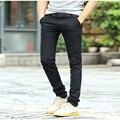 2016 nuevo otoño coreano pantalones ocasionales rectos masculinos ocio pantalón masculino de alta calidad del ocio Delgado pantalones masculinos 6 colores