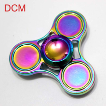 Hot ri-Spinner Fidget Toy Iron Hand Spinner Steel Bearing For kids Autism ADHD Anxiety Stress Relief Toys Gift Fidget Spinner