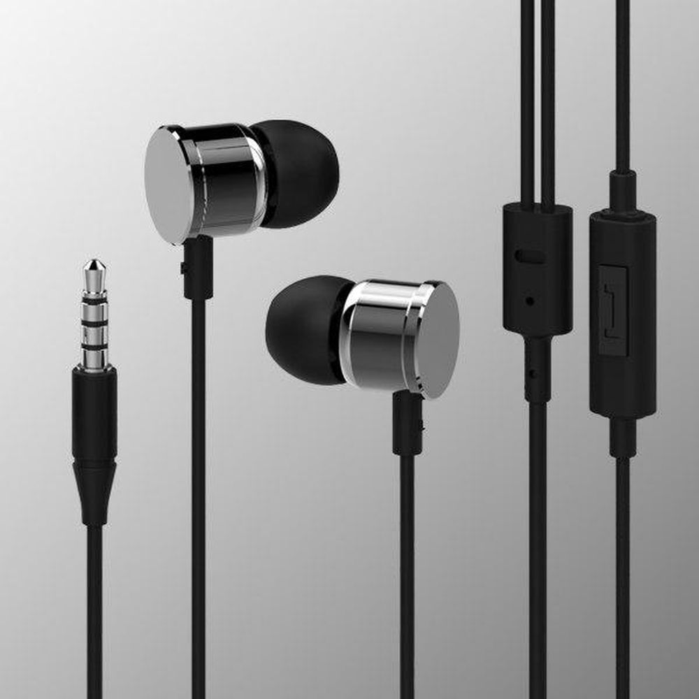 Earphones & Headphones Mediagadget MGDAX500MSL  with a microphone headset Portable Audio Video