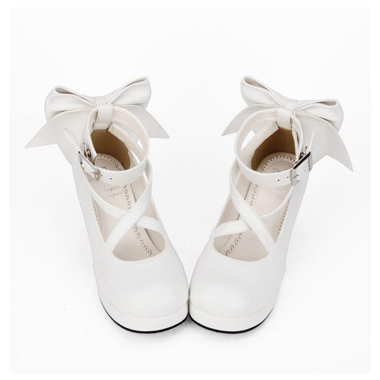 Lolita Shoes Costumes Anime Shoe Thick Heel Princess Shoes Women