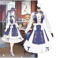 Miracle Nikki The dream of mid spring Lilith cosplay Lolita Princess Costume Cute kawaii girl clothes new Full clothing wig