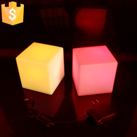 LED Table Lamps 7 Color Change Illuminated Night Lights For Club KTV Bar Free Shipping 10pcs