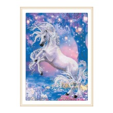 5D DIY diamond painting all-round / round horse embroidery cross stitch gift home decoration