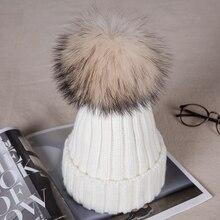 1 шт., новая шапка для мамы и ребенка, детская зимняя теплая меховая Шапка-бини, хлопковая вязаная детская шапка для мамы, головной убор, шапки
