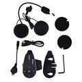 V5 Motocicleta Del Casco de Bluetooth Intercom Headset 3.3-4.2 V Inalámbrico de Intercomunicación Bluetooth Cinco Personas Interfono Dúplex Totalmente 2017