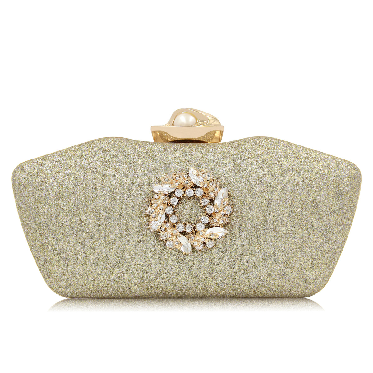 Clutches Women Diamond Flower Evening Clutch Bags Pearl Buckle Banquet Bag Ladies Day Party Clutches Purses Box Bolsa Feminina new women clutches crystal diamond buckle evening clutch bags ladies day clutches purses banquet bag