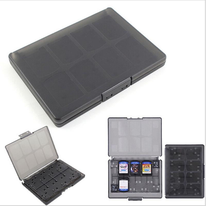 18 in 1 Hard Plastic Game Memory Cards Storage Protective Box Case Holder for Sony psv1000 psv2000 Psvita PS Vita PSV 1000 2000