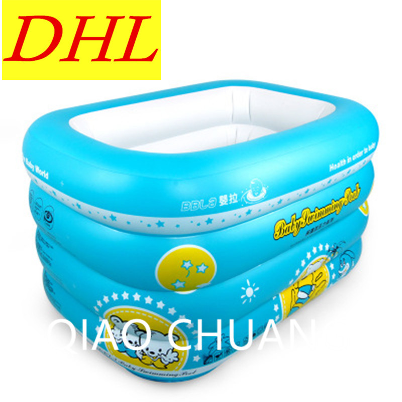 Constant Temperature Bath Tub Cartoon Printing Baby Paddling Pools Inflatable Bath Tub PVC Thicken Swimming Pool G977