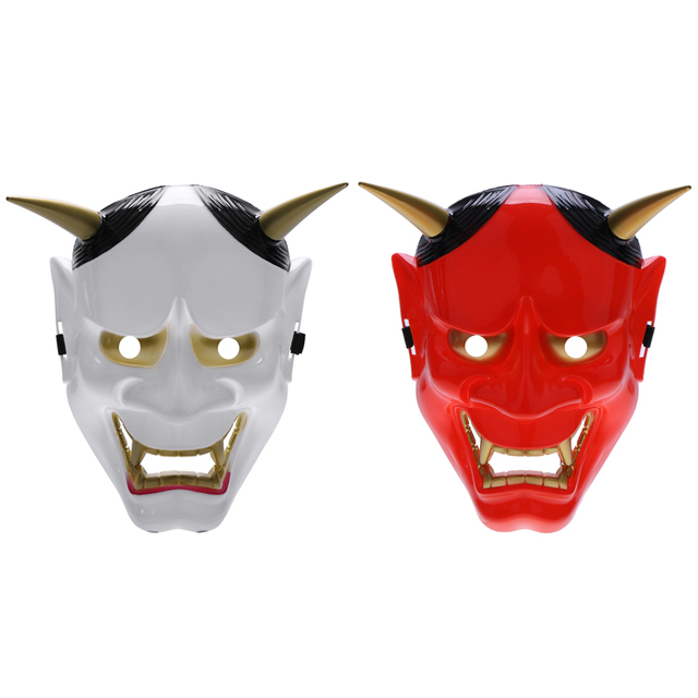 Aliexpress.com : Buy PVC Japanese Hannya Noh Full Face Mask ...