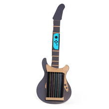 2018 New Hot Guitar 6 String Labo DIY Cardboard Case Guitar Holder Bracket Toy Musical Instrument Juguetes for Nintendo Switch(China)