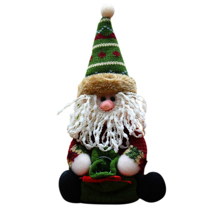 new christmas present snowman santa claus moose indooroutdoor christmas party supplies christmas decorations in party favors from home garden on
