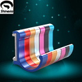 New Wall Mount Aluminium Candy Color Decorative Hooks& Racks,Clothes Hanger & Towel & Coat & Robe Hook.Bathroom Accessories