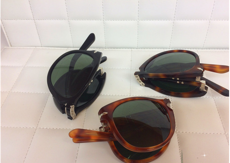 34d05eac8b James Bond Sunglasses 007 Daniel Craig Folding Sunglasses 714 Light Havana  Sunglasses Occhiali Sole Steve Mcqueen Original Box-in Sunglasses from  Apparel ...