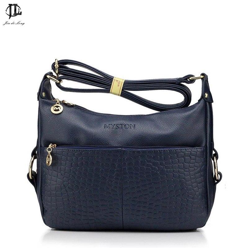 ФОТО *# Business Lady Shoulder Evening Bags Crocodile Lines Alligator Single Classic Woman PU Leather Messenger Bags