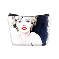 VEEVANV Sexy Monroe Printing Short Wallets Women Clutch Coin Purses Holder Ladies Small Change Pockets Key