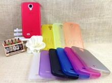 Plastic Thin Slim Matte Cover For Samsung Galaxy S4 mini Soft Case Phone Protect Cover Skin
