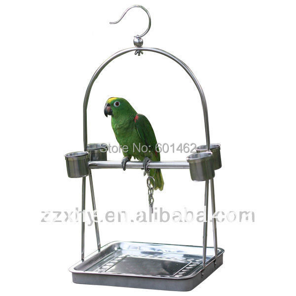 hot sale stainless steel parrot stand parrot play standin cages u0026 nests from home u0026 garden on alibaba group