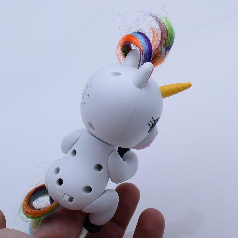 AIBOULLY Interactive Finger Unicorn Smart Induction Toys Christmas Gift Toy Finger Baby Monkey Style
