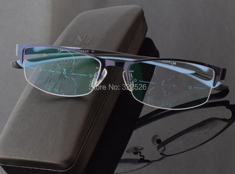 orologio a piedi a la migliore vendita Hombres Mujeres freeform progresiva gafas, marco de aleación de ...