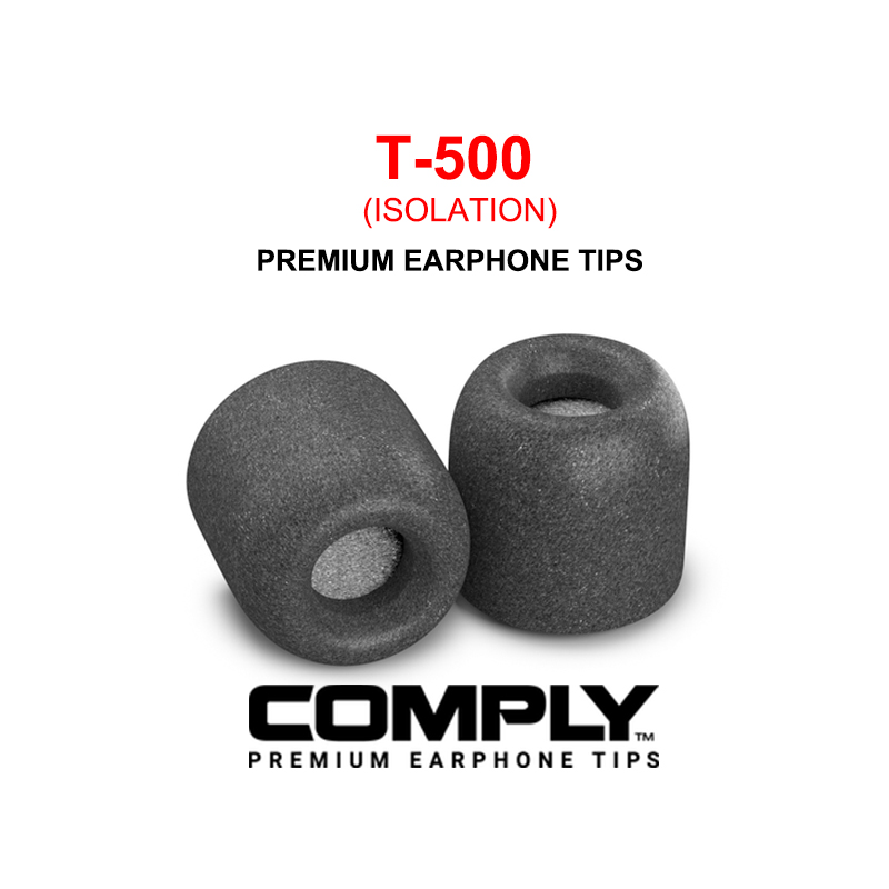 DUNU COMPLY Isolation T-500 (M) Premium Earphone Tips T500 T 500