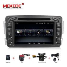 Android 8.1 LETTORE DVD DELL'AUTOMOBILE Per Mercedes Benz W209 W203 W168 M ML W163 W463 Viano W639 Vito Vaneo GPS BT Radio USB + SD 8G MAPPA