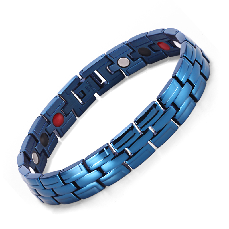 Genezing Magnetische Armband Heren / Dames 316L Roestvrij Staal 3 - Mode-sieraden - Foto 5