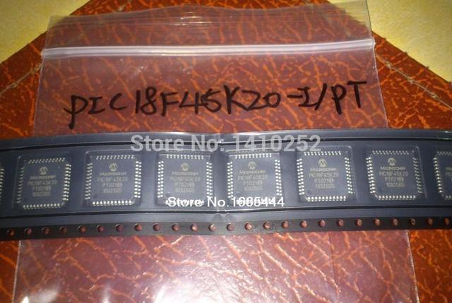 Free Shipping! PIC18F45K20 I/PT PIC18F45K20 QFP44  new and Original in stock