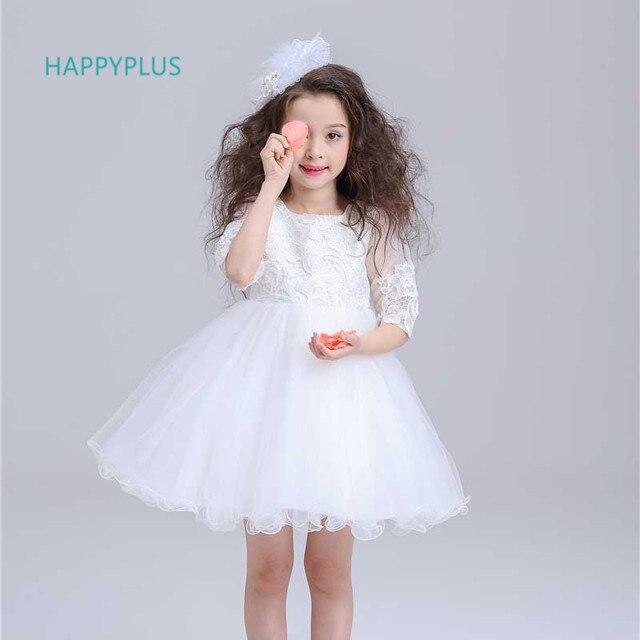 White Birthday Party Dress