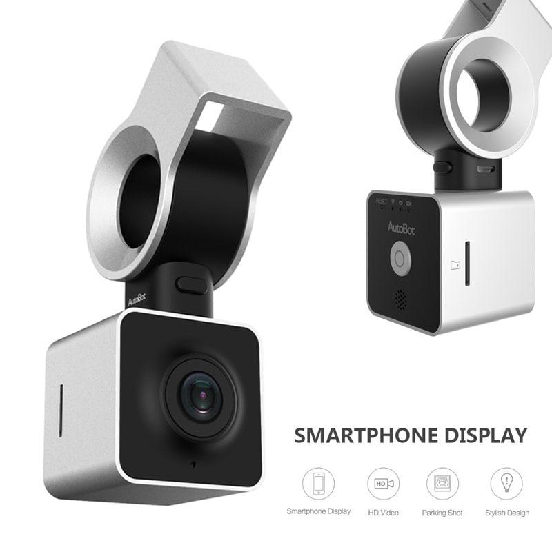 AutoBot Eye Smart Dashcam Auto Start Car DVR Camera 1080P 150Degree WiFi Phone Display WDR Night