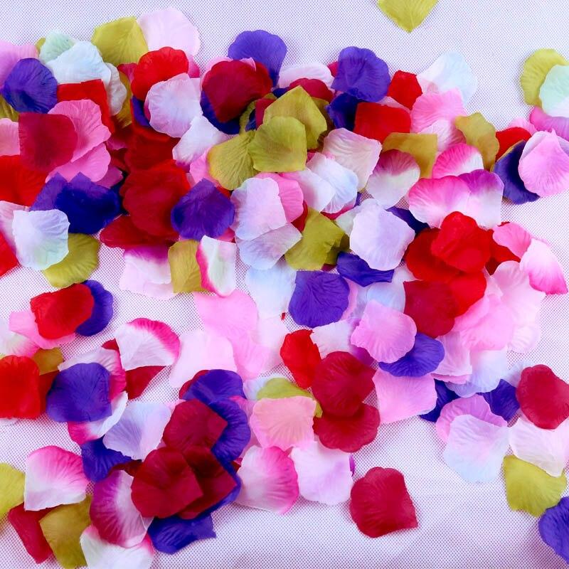Rose Petals 2000pcs BULK Silk Colors Fabric Loose Pink Artificial Wedding Engagement Dec ...