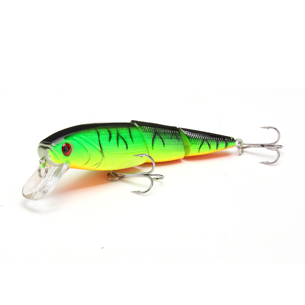 1PCS 10.5cm 15g Japan Wobbler 3-sections Fishing Lures Minnow Swimbait Crankbait Hard bait isca artificial Leurre Peche 1pcs 15 5cm 16 3g wobbler fishing lure big minnow crankbait peche bass trolling artificial bait pike carp lures fa 311