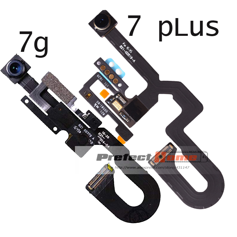"10pcs/lot Front Camera Flex Cable for iPhone 7 Plus 5.'' 7G 7 4.7"" Facing Small Cam Light Proximity Sensor Replacement Parts-in Mobile Phone Flex Cables from Cellphones & Telecommunications    1"