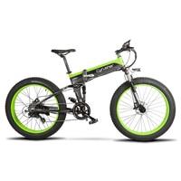 Cyrusher 500 Вт 48 В 10AH полностью подвесная рама Ebike XF690 Fat tire e-bike складной электрический велосипед с компьютерным спидометром
