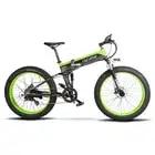 Cyrusher 500W 48V 10AH полностью подвесная рама Ebike XF690 Fat tire e bike складной электрический велосипед с компьютерным спидометром