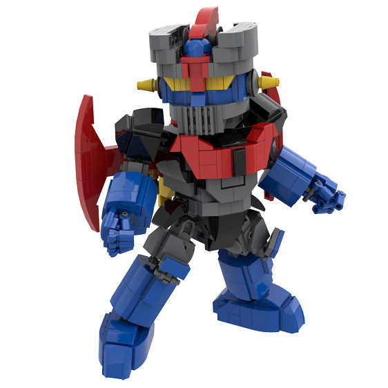 2019 Kennie New Arrive Personal diy 619+pcs Mazinger Z gundam model Blocks building toys Action Figure for children gifts
