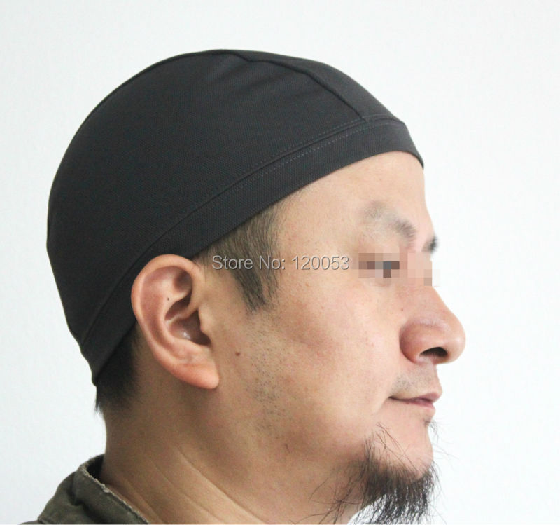 Online Shop Coolmax Material Sweat Absorp Skull Cap 17dded69e9b
