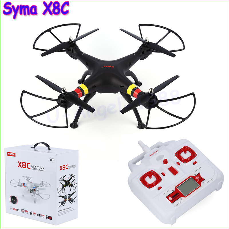 цена на SYMA X8C X8 2.4G 4CH 6Axis Professional RC Drone Quadcopter With 2MP Wide Angle HD Camera Remote Control Helicopter