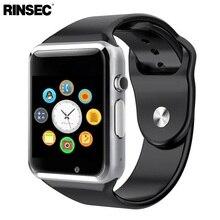 2016 Новое Прибытие А1 Smart Watch Clock Sync Notifier Поддержка SIM TF Карта Подключения Apple iphone Android Телефон Smartwatch