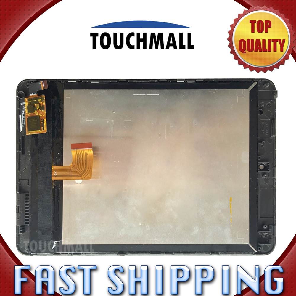For New LCD Display Touch Screen with Frame Assembly Replacement Lenovo Miix3-830 Miix3 830 8-inch Black Free Shipping lcd screen display touch panel digitizer with frame for htc one m9 black or silver or gold free shipping