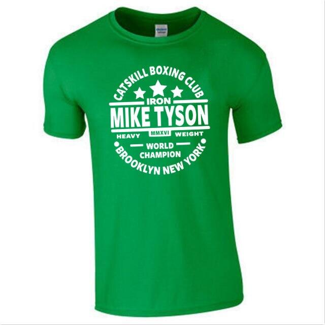 Iron Mike Tyson Catskill Boxing Club Gym New York Mens T-Shirt