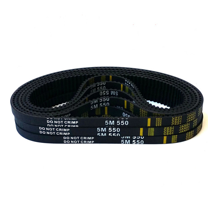 free shipping HTD5M belt 550-5M-40 Teeth 110 Length 550mm Width 40mm 5M timing belt rubber closed-loop belt HTD 5M Belt Pulley