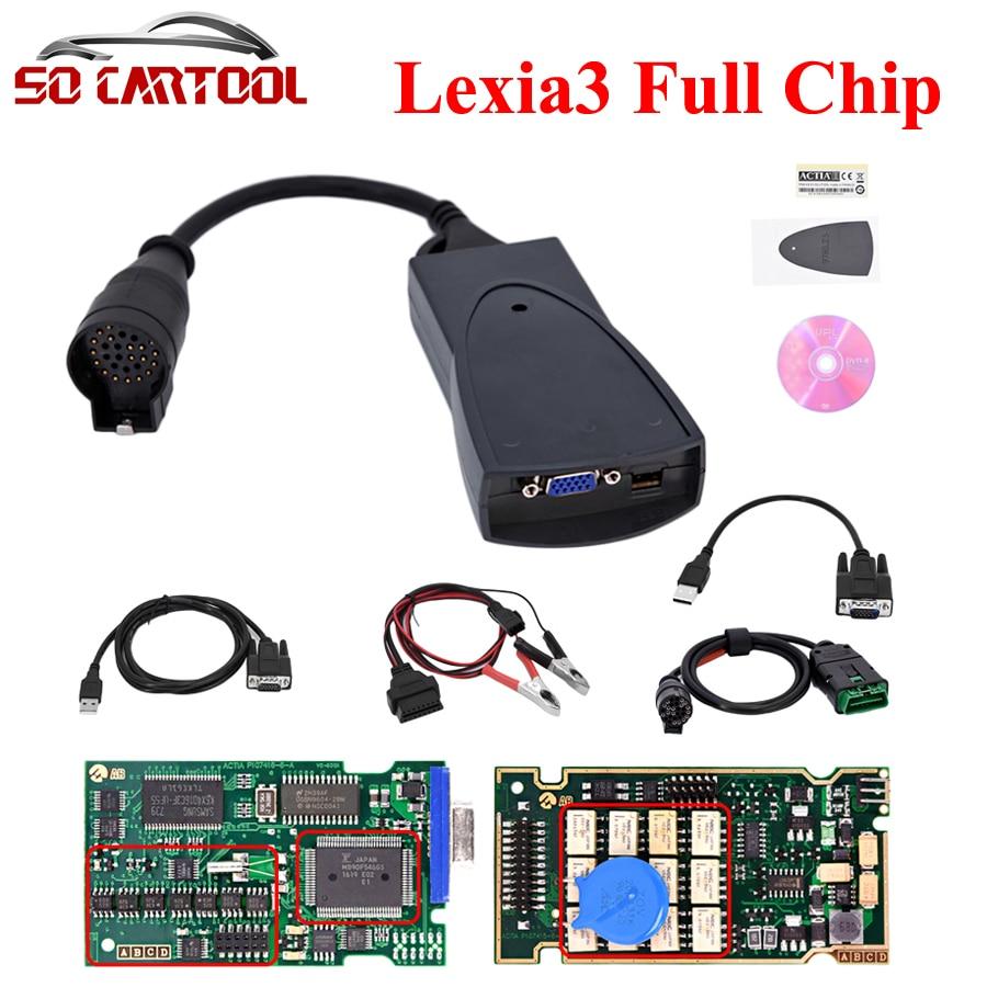 DHL Free Best Quality Full Chip 921815C Firmware Diagbox V7.83 Lexia 3 PP2000 Lexia3 Diagnostic Tool Lexia-3 PP2000 V48/V25 2 pcs lot diagbox v7 83 full chip lexia3 with 921815c lexia3 pp2000 lexia 3 v48 diagnostic tool for citroen psa as gift dhl ship