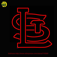 Neon Sign St Louis Cardinals Cap 1940 Store Display Handcrafted Glass Tube Advertise Neon Publicidad Affiche