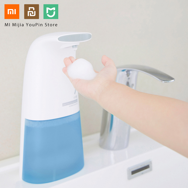 Xiaomi Mini Auto Induction Foaming Smart Hand Mi Washer 0.25s Infrared Induction Wash Touch-less Soap Home Office