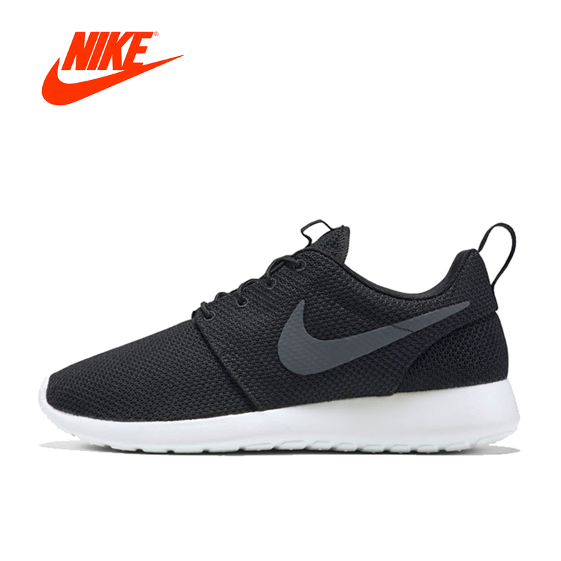 Original New Arrival Authentic Nike Men's ROSHE ONE ROSHE RUN Running Shoes Sneakers Outdoor Sneakers Comfortable 511881-010 schleich фигурка ганноверский жеребец 13837